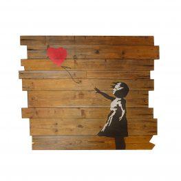 Posteljno vzglavje Banksy